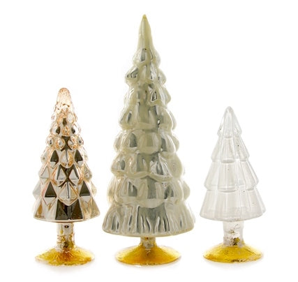Glam Glass Trees