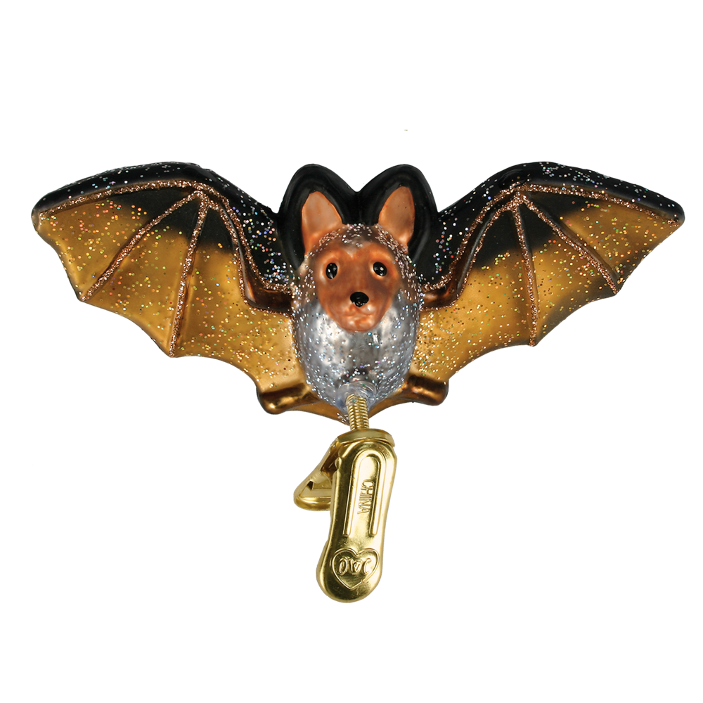 Bat Clip-On Ornament - Halloween Tree Ornaments