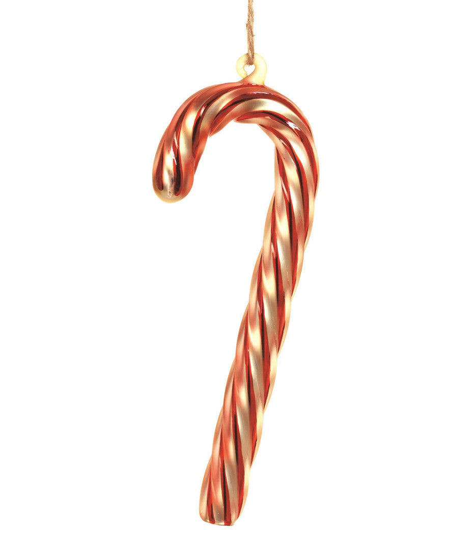 Old Fashioned Glass Candy Cane Ornament