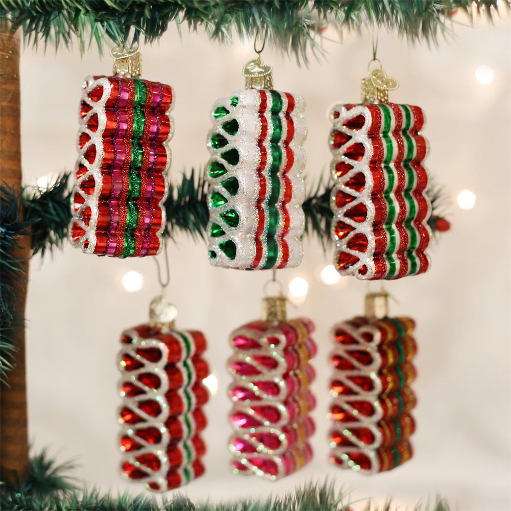 Ribbon Candy | Old World Christmas Glass Ornaments ...