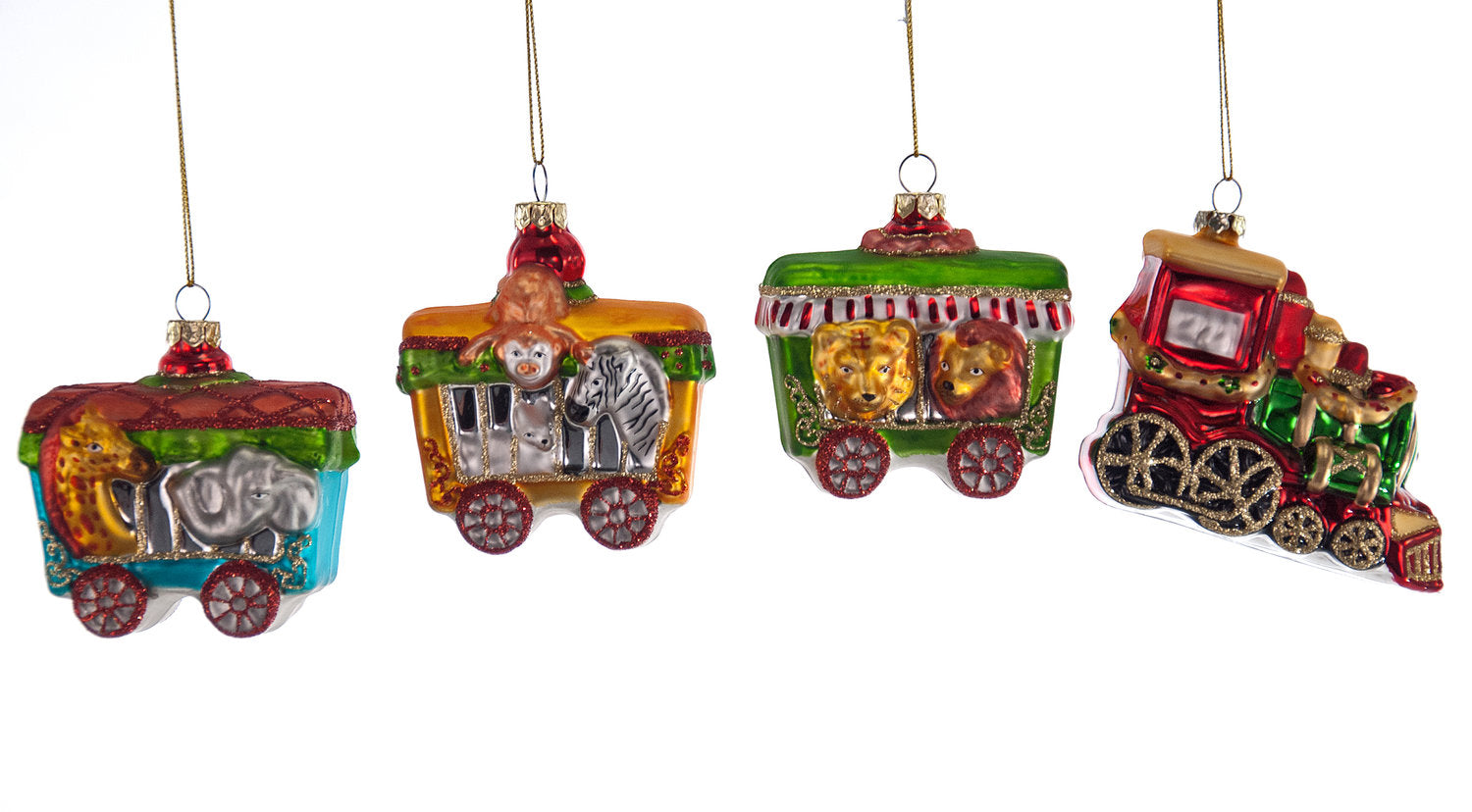 Circus Train Ornament Set | Katherine's Collection ...
