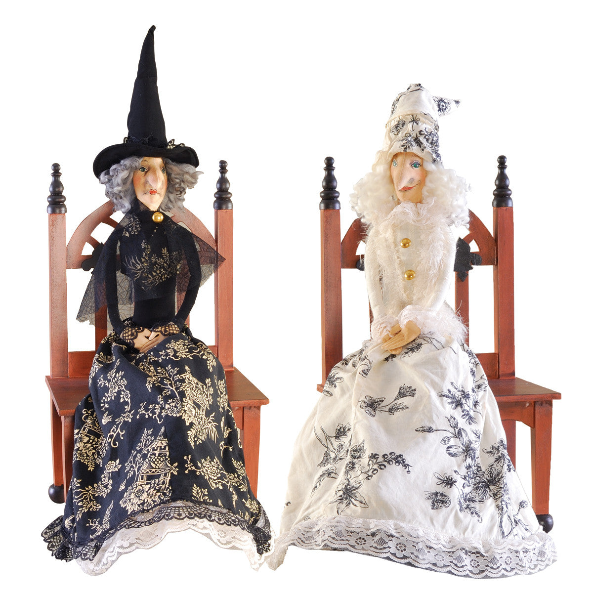 Good Witch - Bad Witch Reversible Halloween Dolll