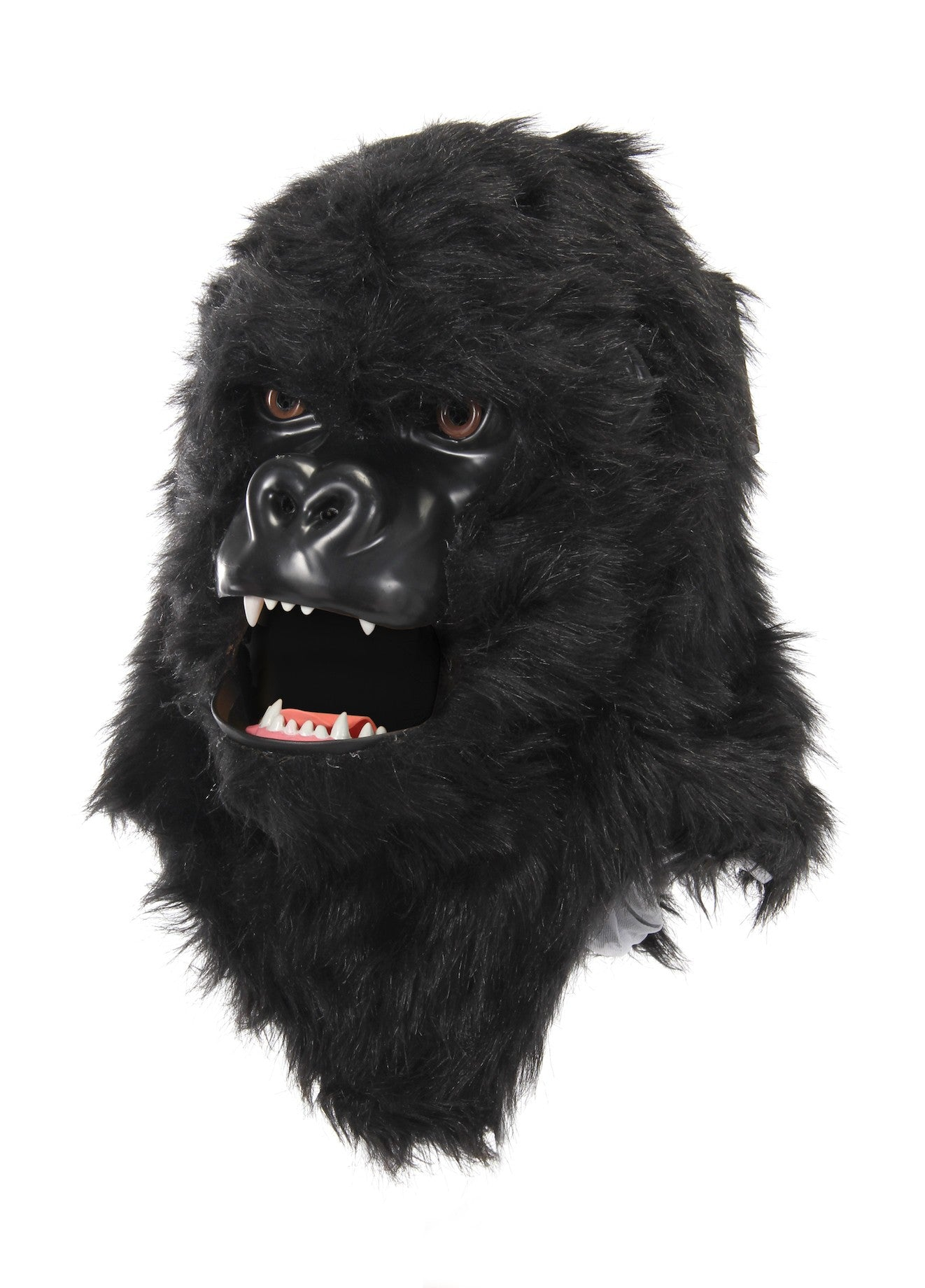 Gorilla Mask with Moving Mouth Mover by Elope