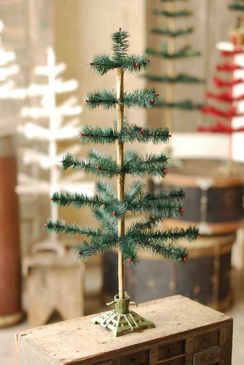 Green Feather Tree - 24""