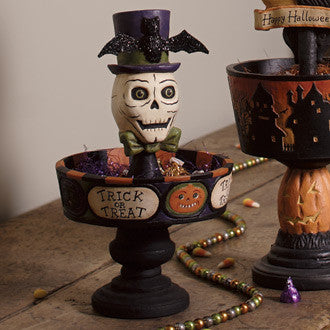 Trick or Treat Candy Dish