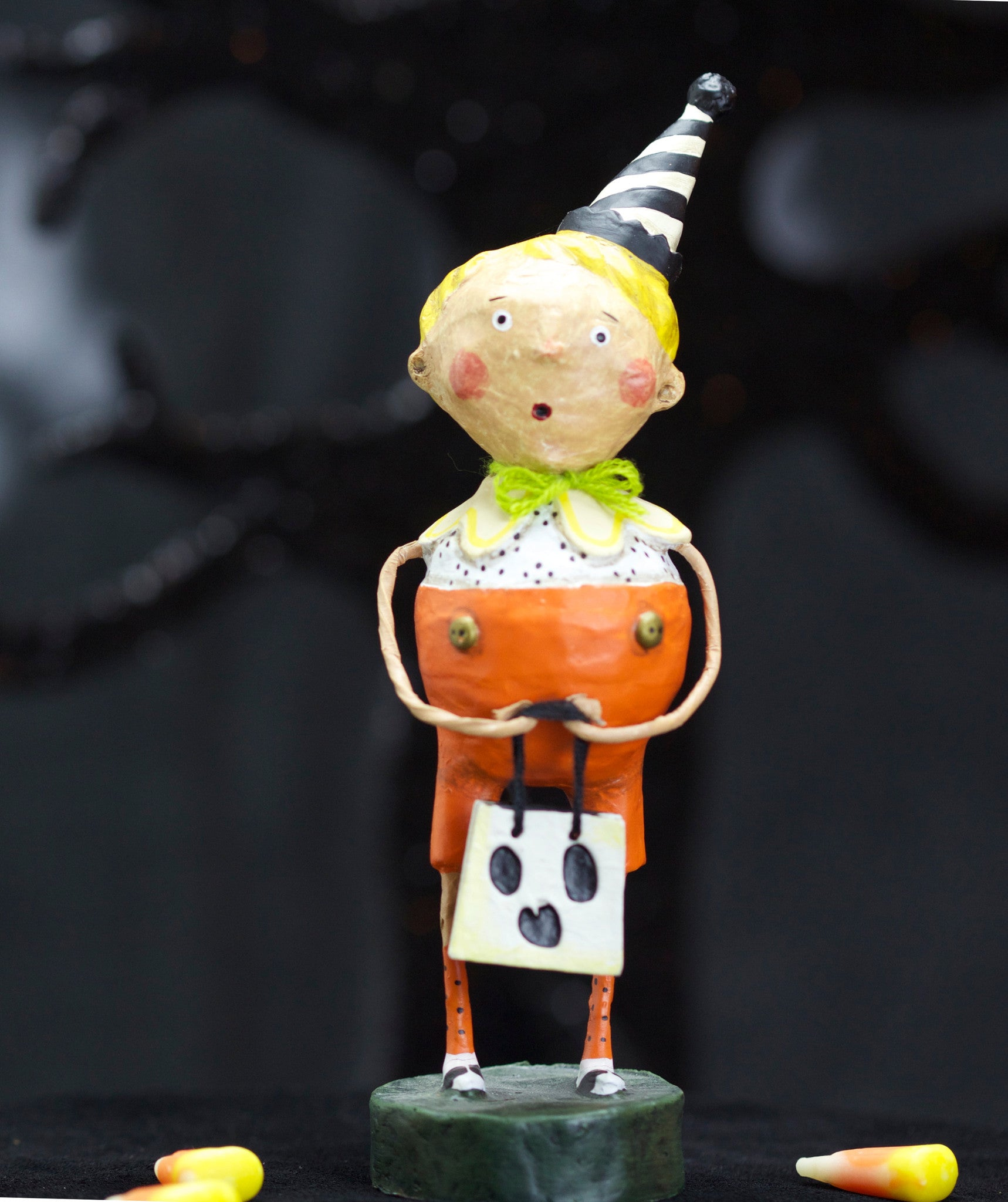 All Hallows Eve Party Boy - Lori Mitchell Halloween Figurine