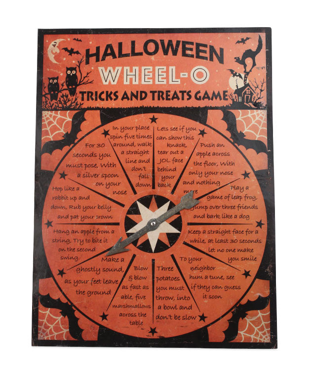 Halloween Wheel-O Tricks & Treats Game by Bethany Lowe