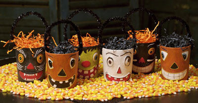 Halloween Smiles Treat Containers