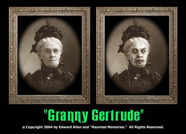 Granny Gertrude Changing Portrait