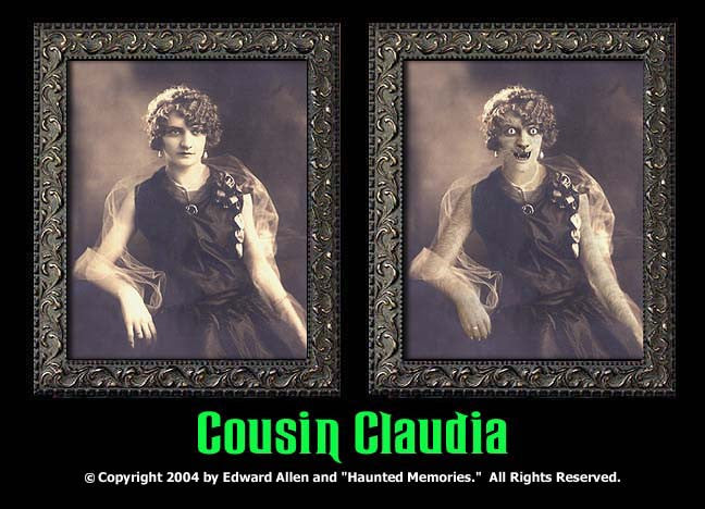 Cousin Claudia Changing Portrait