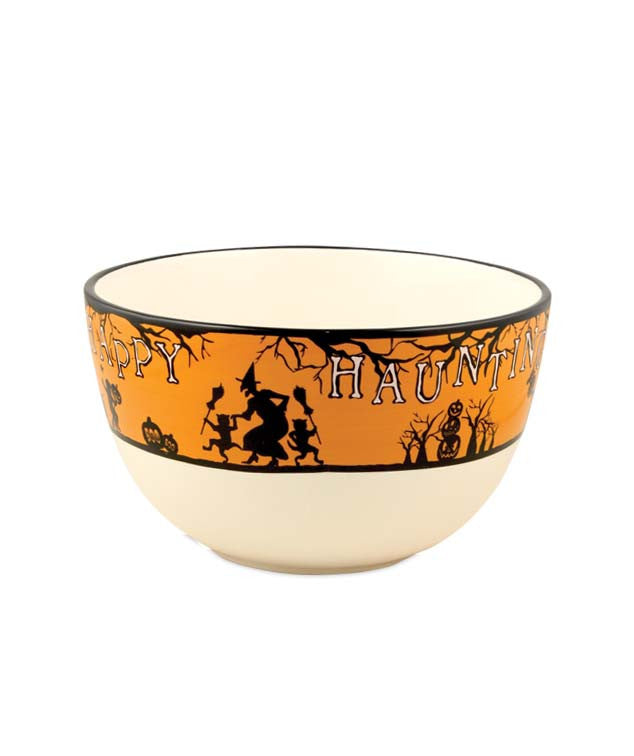 Halloween Happy Haunting Bowl - Bethany Lowe Party Dinnerware