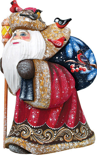 Happy Traveler Yuletide Santa - G. Debrekht Masterpiece Collection