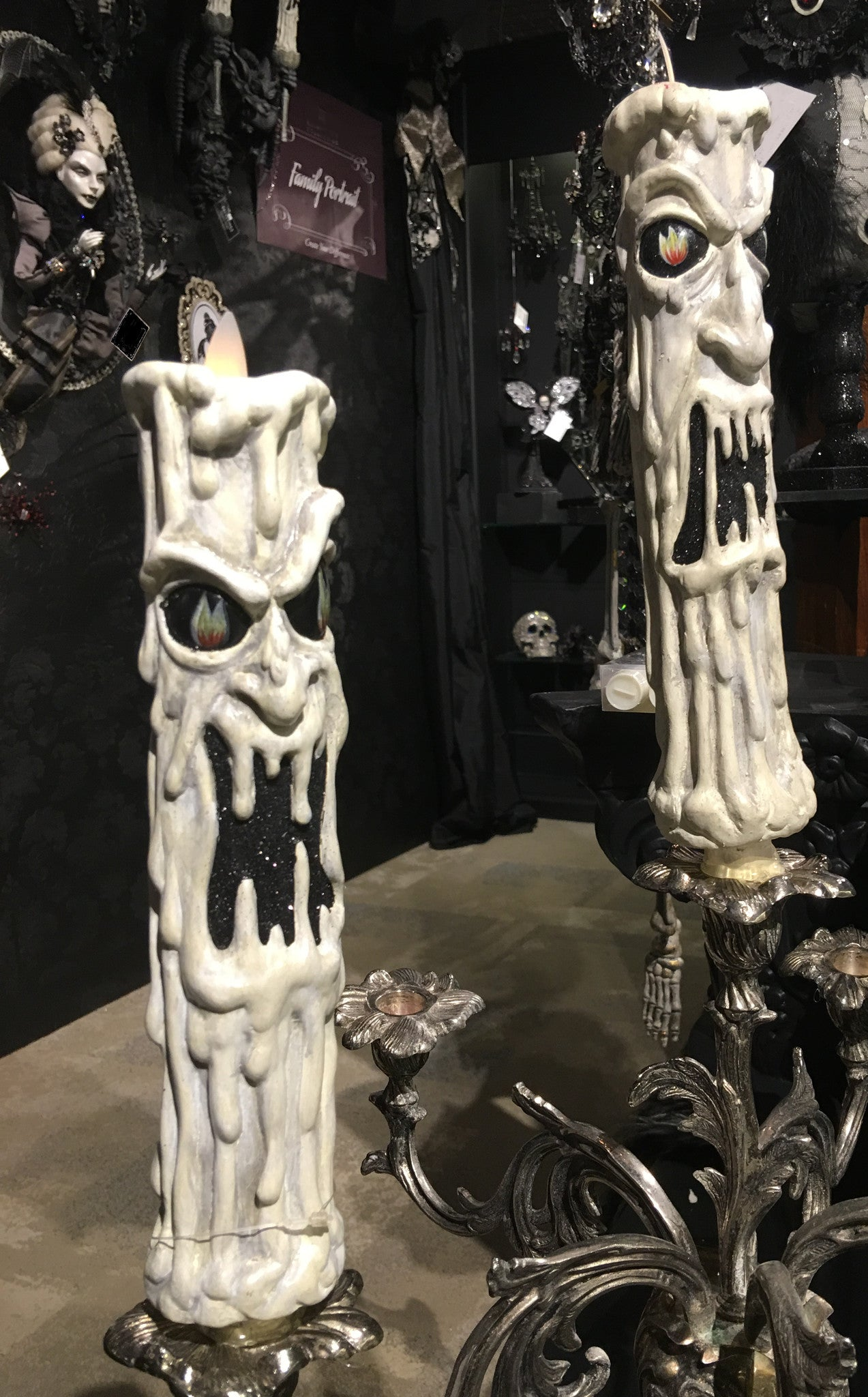 Haunted Candlestick Sleeves