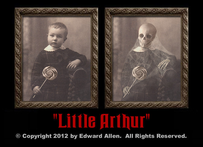 Little Arthur Changing Portrait