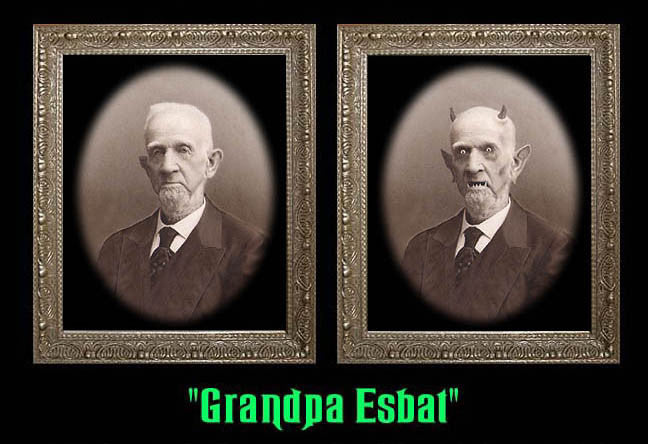 Granpa Esbat Changing Portrait