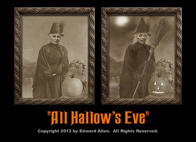 All Hallow's Eve Changing Portrait