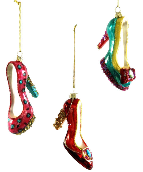 high heels glamour ornaments