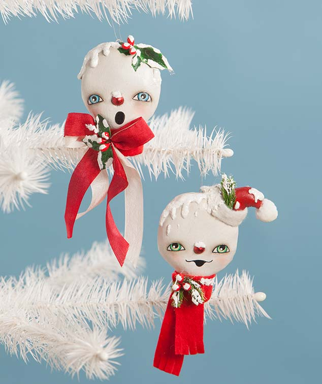 Holly & Jolly Ornaments