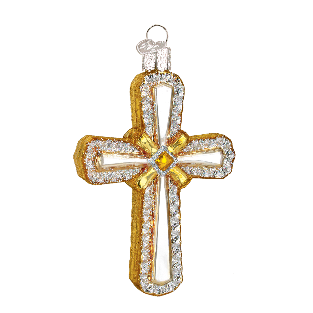 Holy Cross Ornament - Old World Christmas