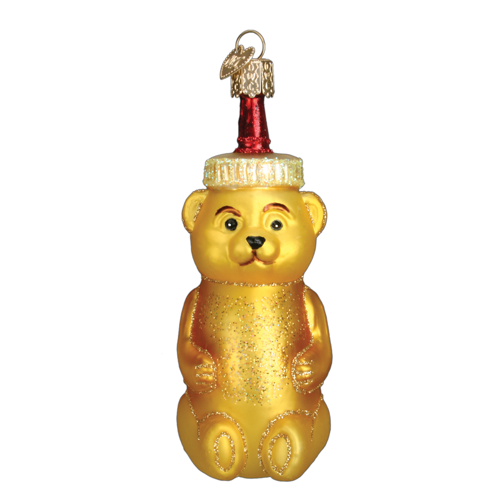 Honey Bear Ornaments by Old World Christmas