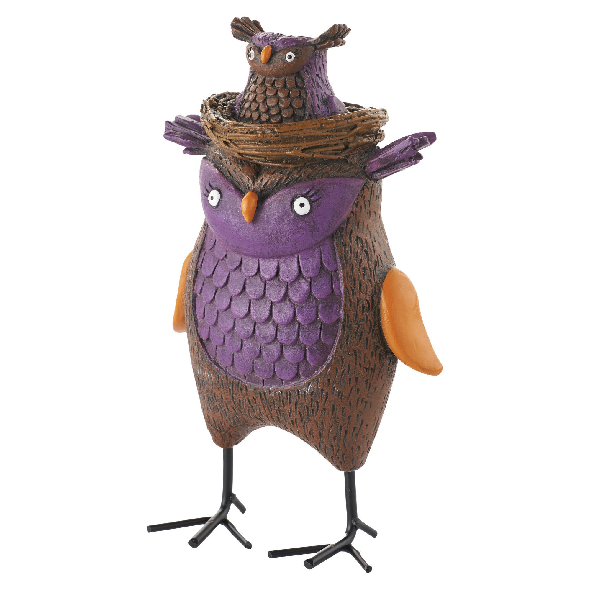Hoot & Holler Owl Figurine by Department 56