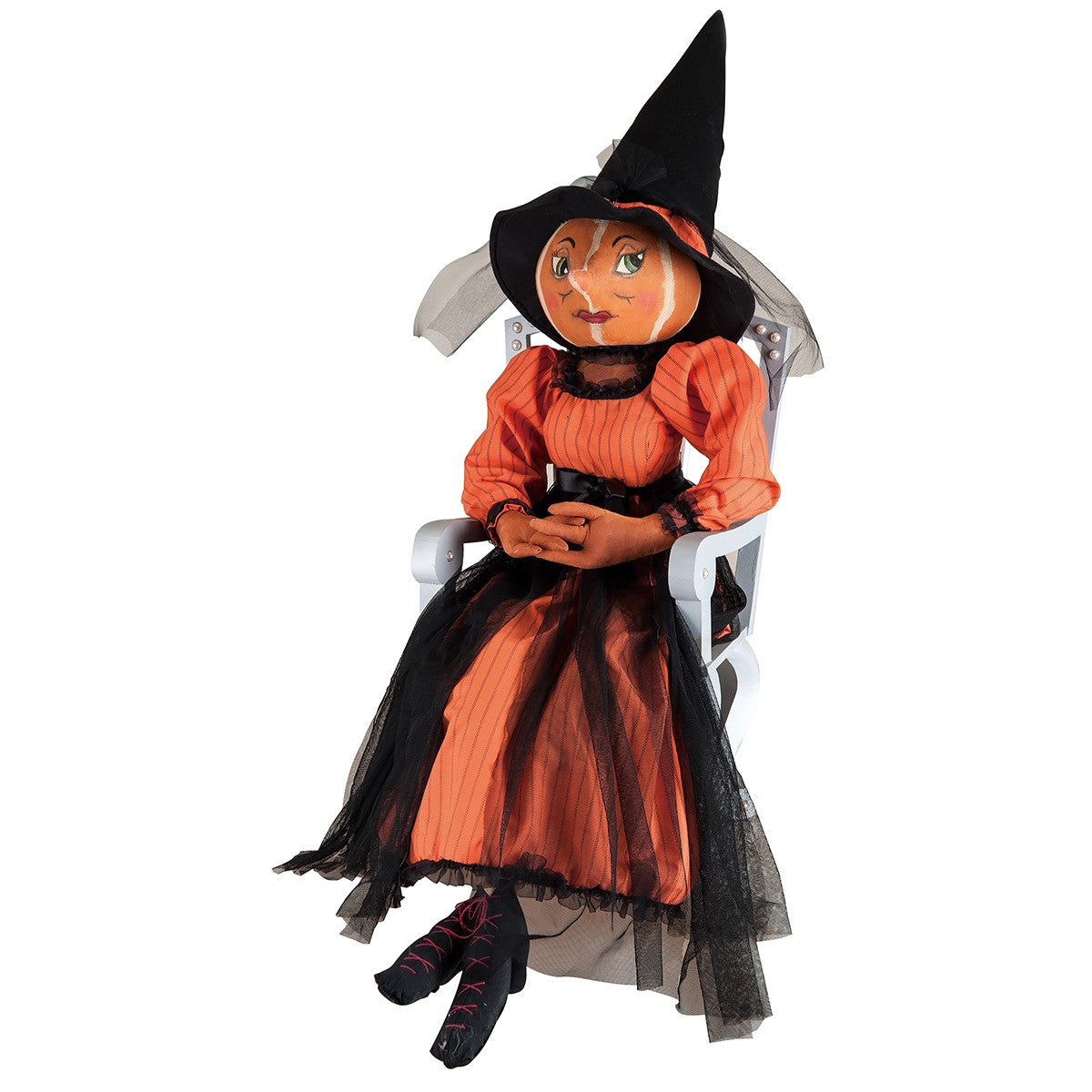 Isadora Pumpkin Witch - Joe Spencer Halloween