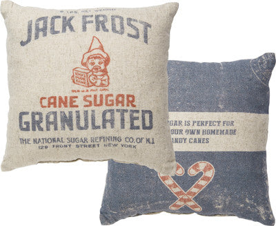 Jack Frost Sugar Pillow