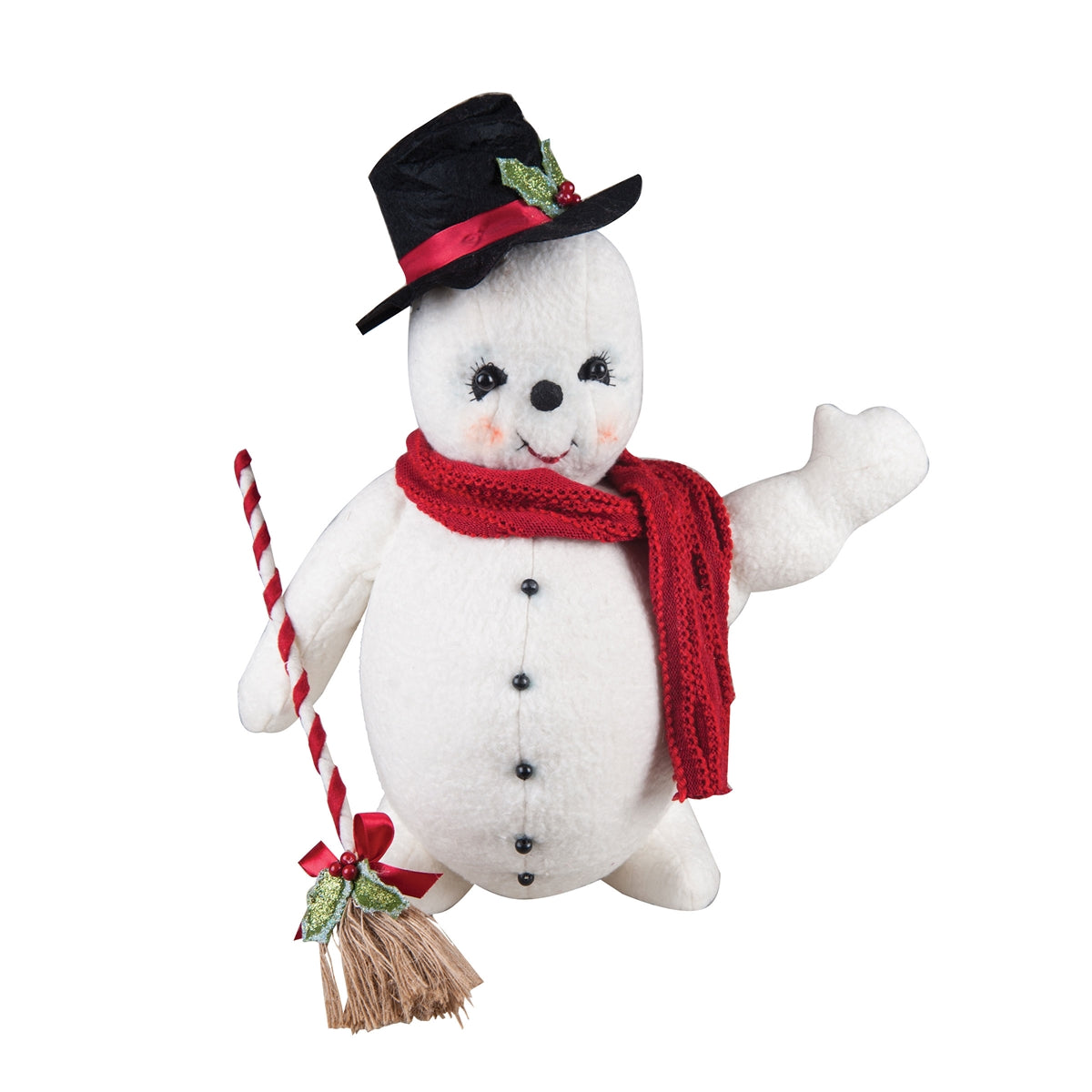 Jackson Snowman with Top Hat & Broom