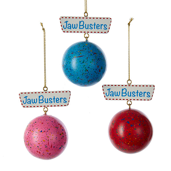 jaw busters ornament set christmas candy ornaments - Candy Christmas Ornaments