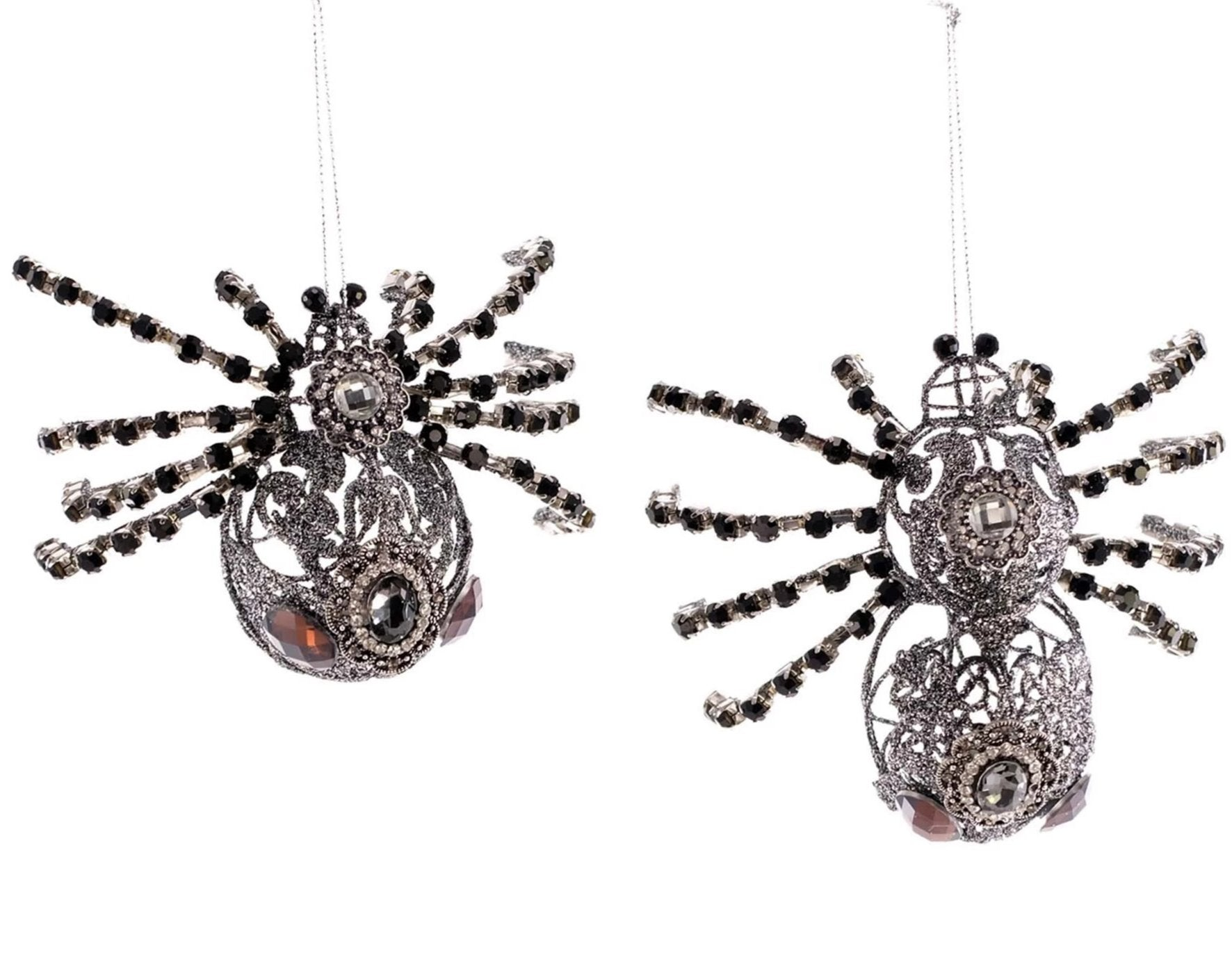 Katherine's Collection Jeweled Spiders