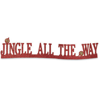 Jingle All the Way Table Sign