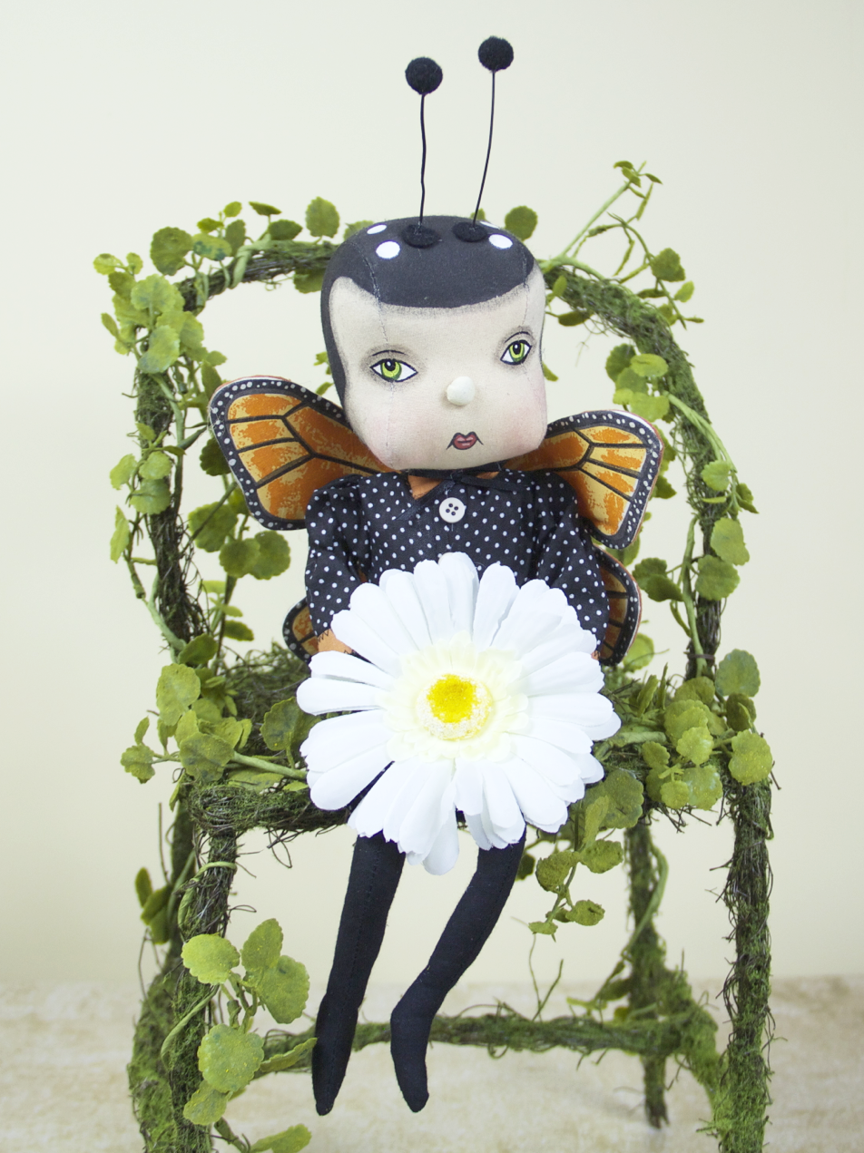 Joe Spencer Avis Butterfly Doll