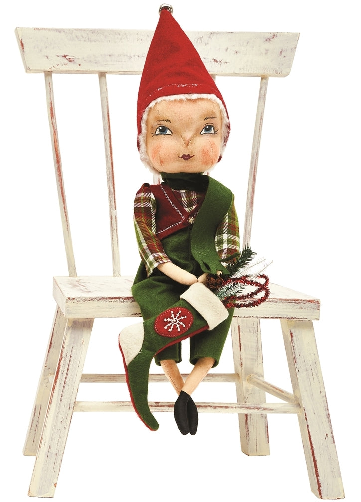 Ezra Santa's Helper Doll