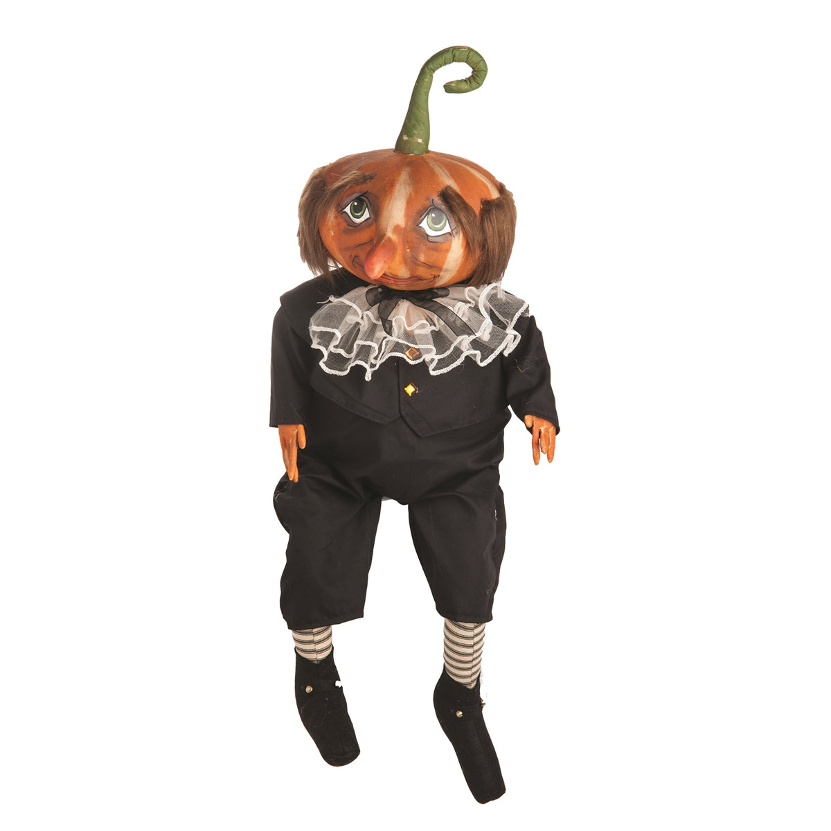 Gersham Pumpkin Head Doll by Joe Spencer