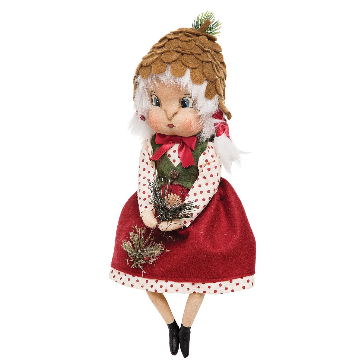 Heather Pinecone Doll by Joe Spencer 2019