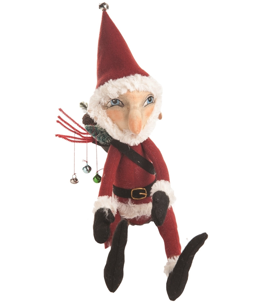 Joe Spencer Maguire Santa Doll