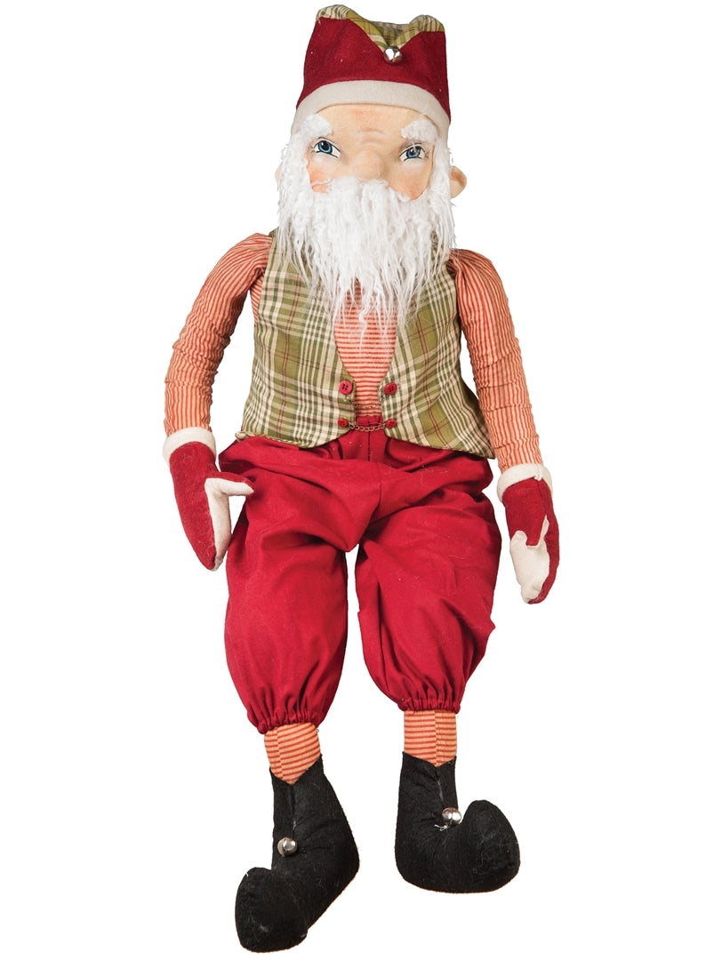 Joe Spencer McDonald Santa Doll