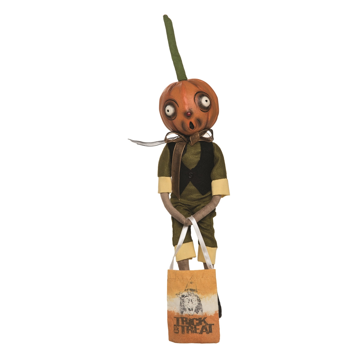 Joe Spencer Orvis Pumpkin Guy Doll