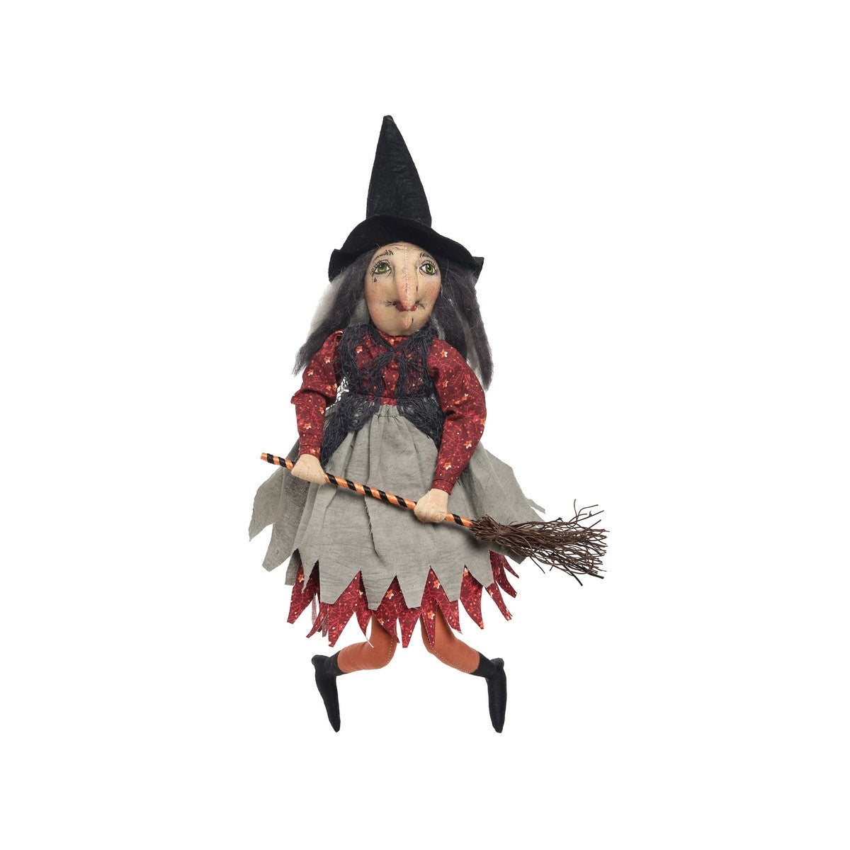 Joe Spencer Paprika Witch Cloth Doll