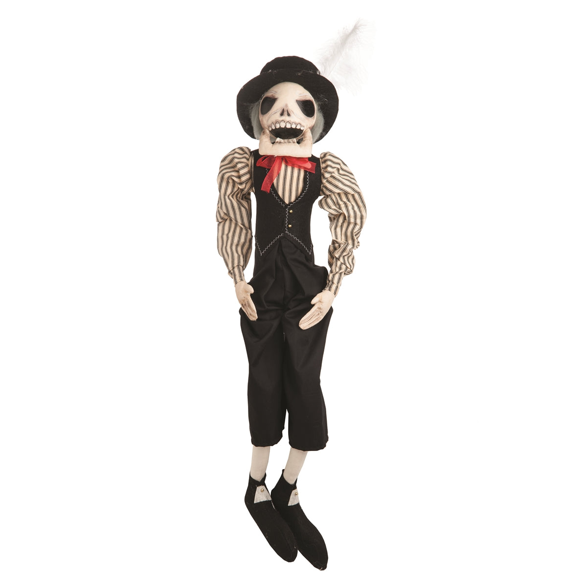 Joe Spencer Pascual Skeleton - Cloth Halloween Dolls