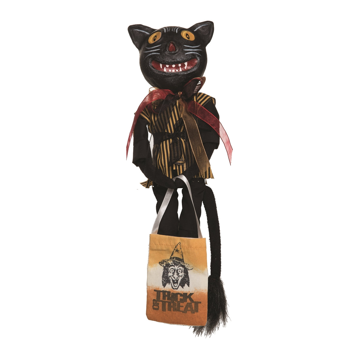 Joe Spencer Patience Vintage Cat Doll - Halloween Dolls