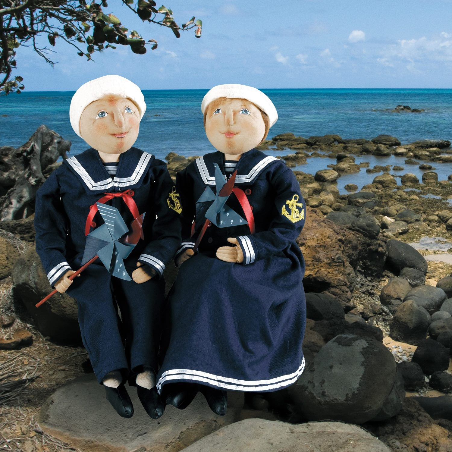 Joe Spencer Sailor Dolls