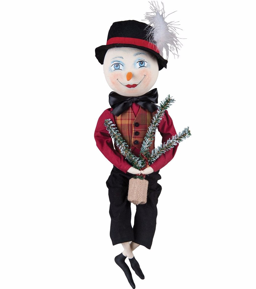 Joe Spencer Stanley Snowman Doll