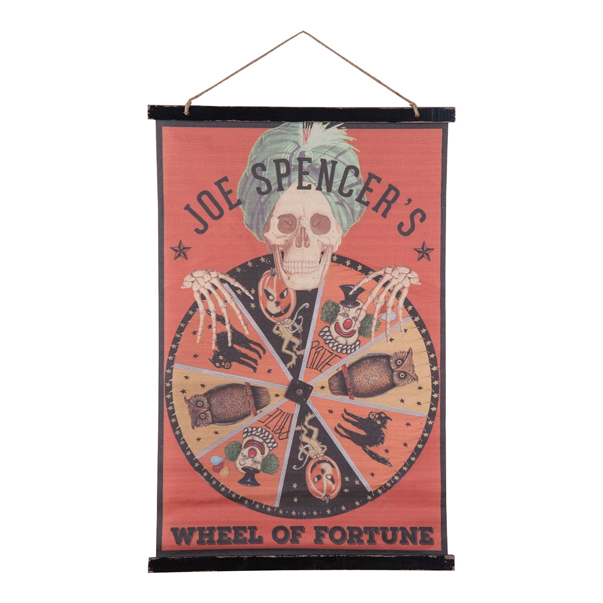 Joe Spencer's Side Show Halloween Banner