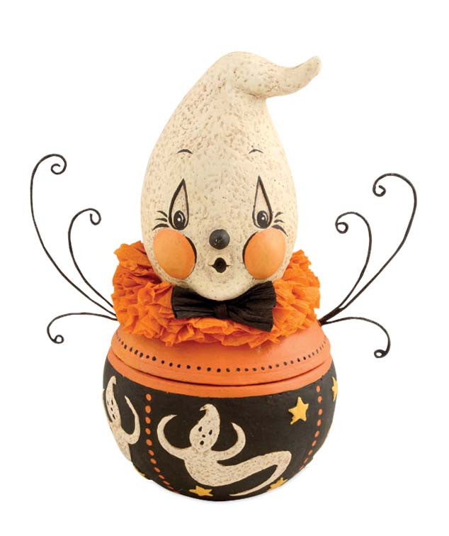 Johanna Parker Boo Boo Ghost Candy Bowl Halloween Container