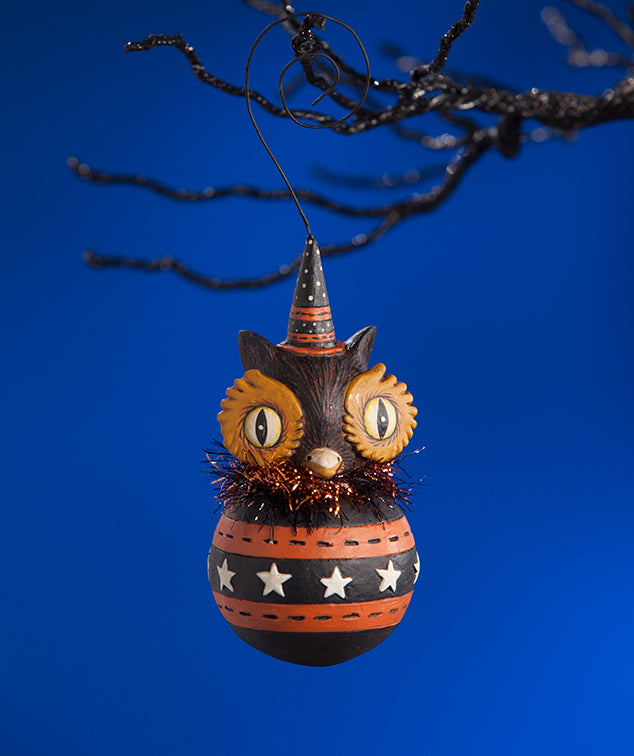 Johann Parker Owl Ball Halloween Ornaments