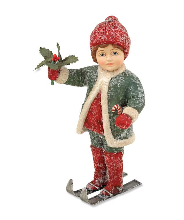Kai On Skis Ornament - Bethany Lowe