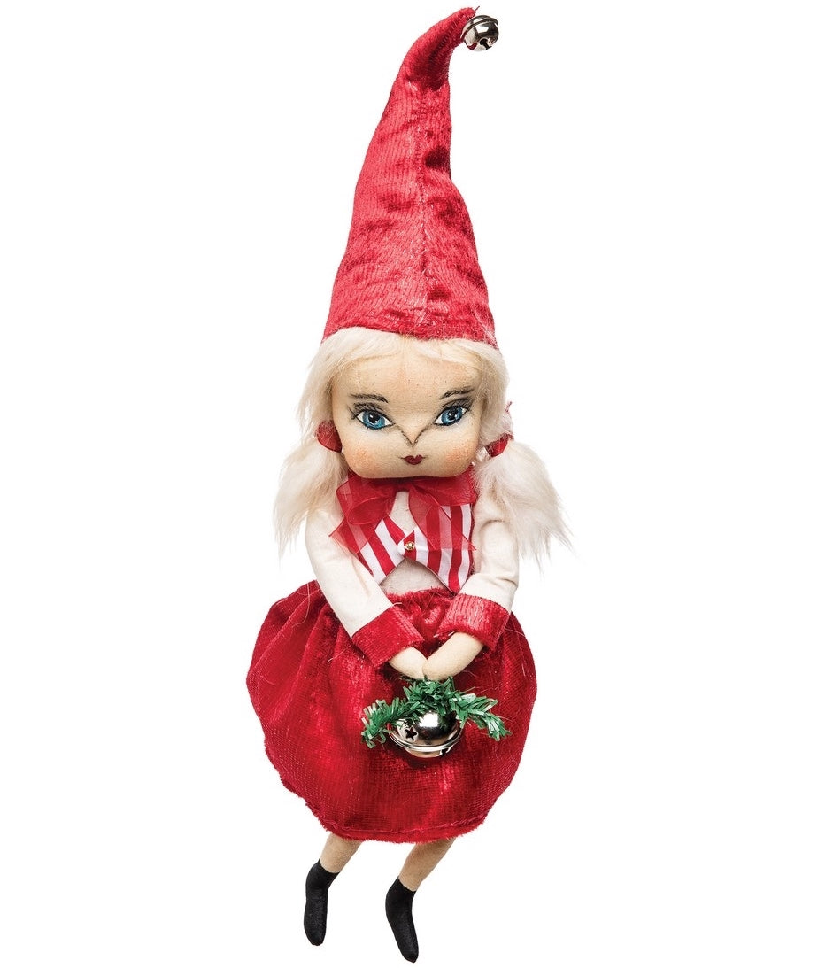 Kaitlin Christmas Doll with Red Pointy Hat