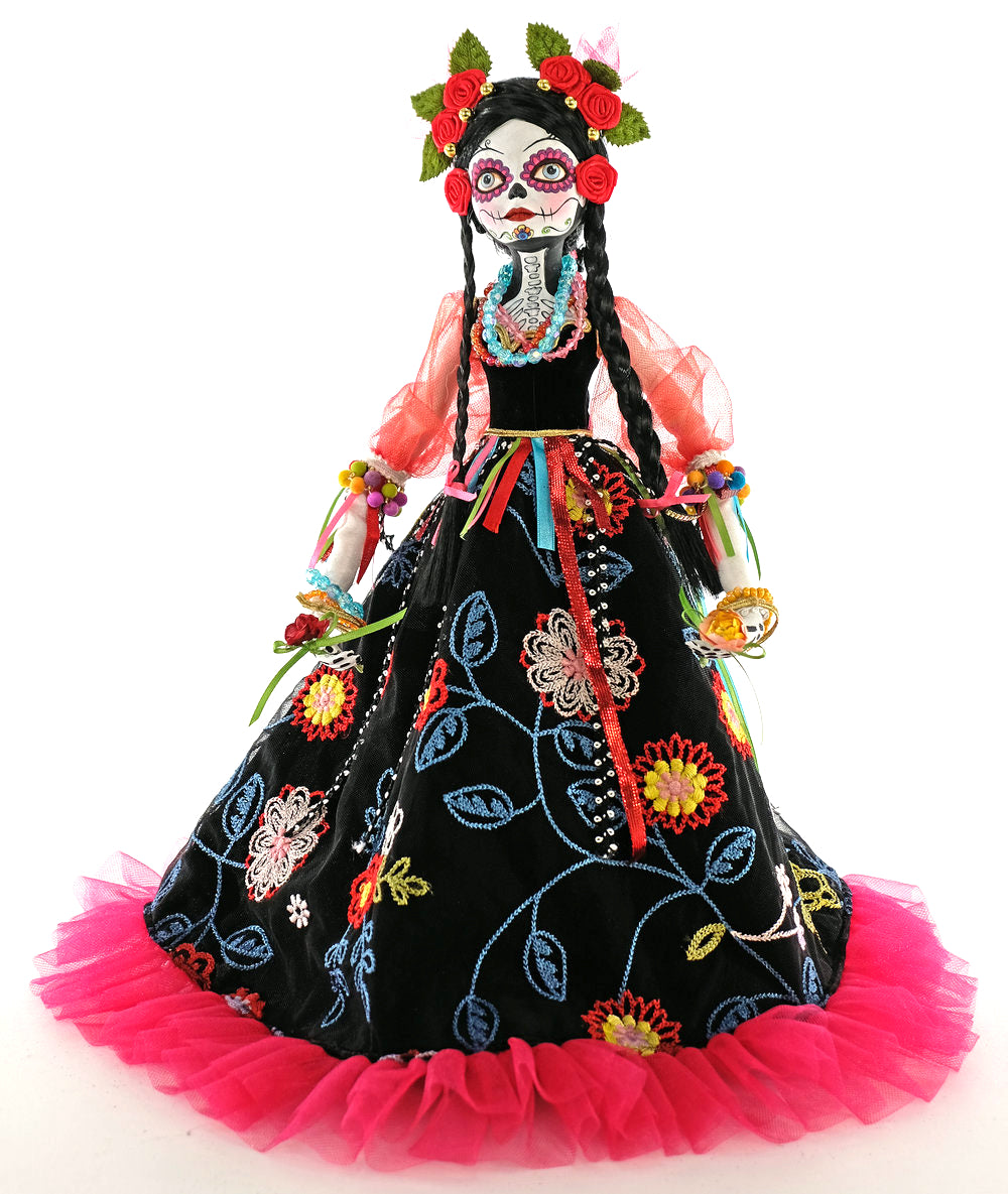 Day of the Dead Dancer Doll by Katherine's Collection