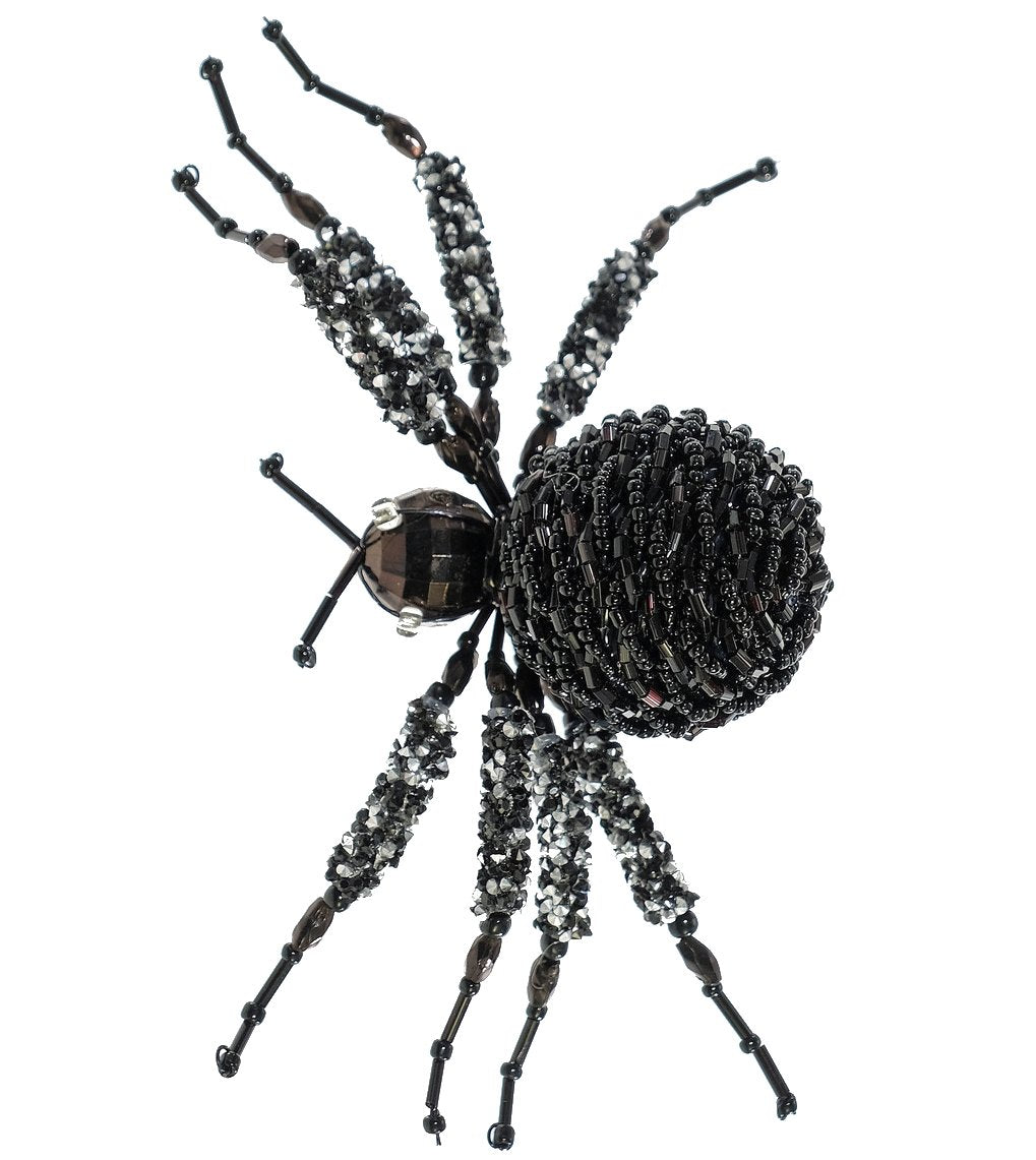 Beaded Tarantula Spider Clip by Katherine's Collection